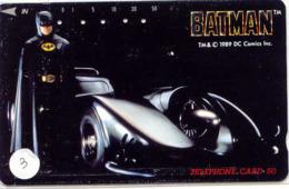Télécarte * (3) BATMAN  * Movie FILM- Cinema - Comics - Phonecard - BD