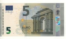 """5 EURO  """"France""""     DRAGHI   U 004 D1    UA3081545265 /  FDS - UNC - 5 Euro"""