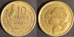 France - 10 Francs 1957 Used (fr018) - France