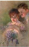 Illustrateur Guerzoni Couple (1020-1 - Altre Illustrazioni