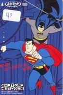 Carte * (42) BATMAN  * Movie FILM- Cinema - Comics - Card - BD