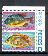 Timbre Oblitéré - Guinée Equatoriale / Guinéa - Poissons / Fish - Paire - Lepomis Megalotis, Etroplus Maculatus - (3) - Equatoriaal Guinea
