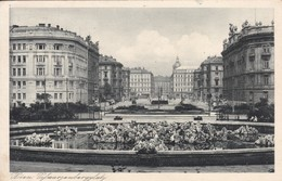 AK Wien - Schwarzenbergplatz - Werbestempel Hausbrieffachanlagen - 1930  (50571) - Vienna