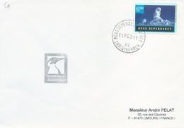 Lettre De La Base Scott - Timbre Ross N°49 - Cachet Ross Dependency Agency Du 11/02/1991 - Dependencia Ross (Nueva Zelanda)