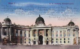 AK Wien - K.k. Hofburg - Michaelerplatz - 1916 (50573) - Vienna Center