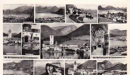 AK Wolfgangsee Im Salzkammergut - St. Wolfgang - Mehrbildkarte   (50575) - St. Wolfgang
