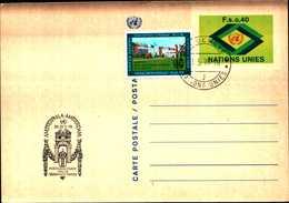 14961) U.N.1977, GENEVA -POSTAL CARD ,FDC - Autres