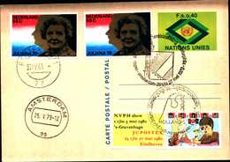 14962) U.N.1977, GENEVA -POSTAL CARD ,FDC - Autres