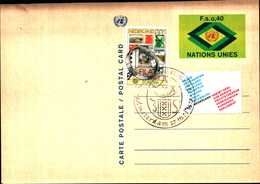 14968) U.N.1977, GENEVA -POSTAL CARD ,FDC - Autres