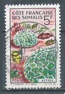 Cote Des Somalis YT N°316 Corail Astrée Oblitéré ° - Gebraucht