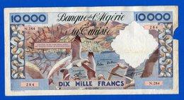 Algerie 10.000 Fr Du 6/12/1956 Dans Létat - Algeria