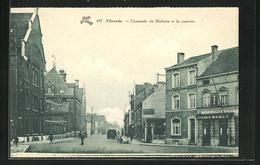 AK Vilvorde, Chaussee De Malines Et La Caserne - Belgique