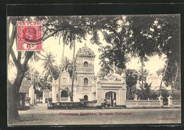 AK Colombo, Cinnamon Gardens With Mosque - Sri Lanka (Ceilán)