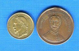 Napoleon  2  Medailles - Adel