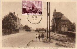 Weert-saint-georges  Les Deux Stations Animée Circulé En 19???? - Oud-Heverlee