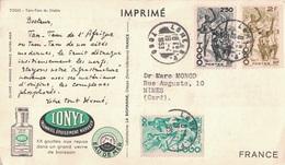 TOGO - LOME - PLASMARINE - IONYL - COTE D'AFRIQUE PLASMARINE 1952-1953-TAM TAM DU DIABLE. - Togo (1914-1960)