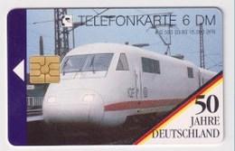 TK  25182 GERMANY - Chip O583 03.93 50Jahre Deutschland - Trains 15 000 Ex. MINT! - Allemagne