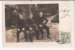 Suisse Valais Champery Paysannes De Foulards Rouges RARE 1905 - VS Valais
