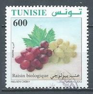 Tunisie 2012 Raisin Biologique Oblitéré ° - Tunesië (1956-...)