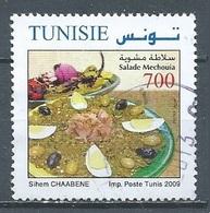 Tunisie 2009 Salade Mechouia Oblitéré ° - Tunesië (1956-...)