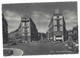 CL154 -  ROMA LARGO SANTA SUSANNA ANIMATA AUTOMOBILI 1950 CIRCA - Autres Monuments, édifices