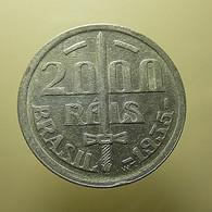 Brazil 2000 Reis 1935 Silver - Brazil
