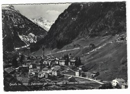 CL160 -  GEROLA PANORAMA CON VEDUTA PIZZO DI TRONA SONDRIO 1963 - Other Cities