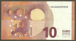 Spain - 10 Euro - V004 A4 - VA4484999999 - Circulated - EURO