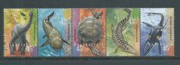 Australia 1997 Prehistoric Animals Strip Of 5 MNH - 1990-99 Elizabeth II
