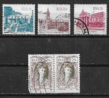 1982-4 Sudafrica Edificios-personajes 5v. Pareja - África Del Sur (1961-...)