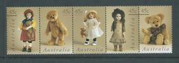 Australia 1997 Dolls & Teddy Bears Strip Of 5 MNH - 1990-99 Elizabeth II