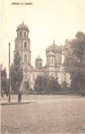 POLOGNE - KIRCHE IN LUBLIN - GUERRE 14 18 - Poland