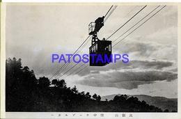 134653 JAPAN HELP VIEW TRAIN AERIAL POSTAL POSTCARD - Zonder Classificatie