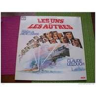 LES UNS ET LES AUTRES  FILM DE CLAUE LELOUCHE  MUSIQUE DE FRANCIS LAI &  MICHEL LEGRAND   ALBUM  DOUBLE - Musique De Films