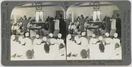 Africa Tanzania ~ UJIJI ~ Native Court Stereoview 20767 812b - Stereoscopio