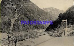 134669 JAPAN SHOSENKYO GORGE VIEW OF THE ENTRANCE OF TOGAKYO BRIDGE POSTAL POSTCARD - Non Classés