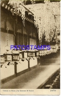 134673 JAPAN UTISTERIA IN FLOWERS AND BRONZE FLASHLIGHTS POSTAL POSTCARD - Non Classés