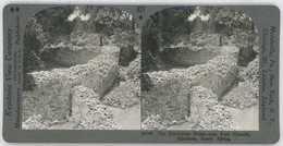 Africa Zimbabwe STONE RUINS NEAR FORT VICTORIA Stereoview 20740 827a - Stereoscopio