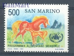San Marino 1983 Mi 1287 MNH ( ZE2 SMR1287 ) - Horses