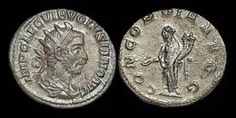 Volusian AR Antoninianus Concordia Standing Left - 5. L'Anarchie Militaire (235 à 284)
