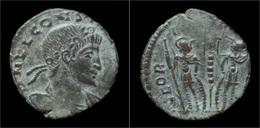 Constans AE Follis - 7. L'Empire Chrétien (307 à 363)