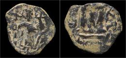 Byzantine Constans II AE Follis - Byzantines