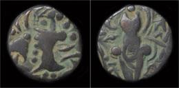 Kidarite Kidarites Of Kashmir Pradataditya II Base Gold Dina - Indiennes