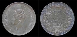 India King George VI Rupee 1941 - Inde