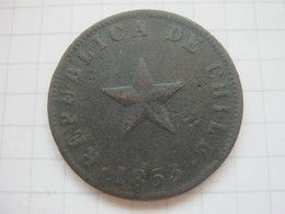 Chile , 1 Centavo 1853 - Chile