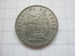 Chile , 5 Centavos 1938 - Chile
