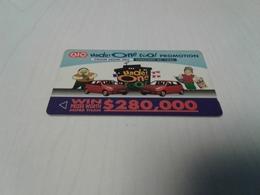 Singapore - Nice Private Phonecard 1SVIA - Singapour