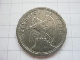 Chile , 10 Centavos 1921 - Chile