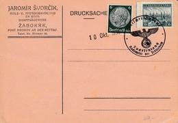 Bohemia & Moravia WWII Sudetenland - Collection Of Covers - Bohemia Y Moravia