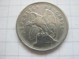 Chile , 10 Centavos 1923 - Chile